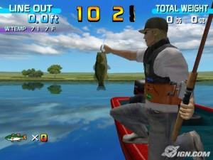 Imagen Sega Bass Fishing