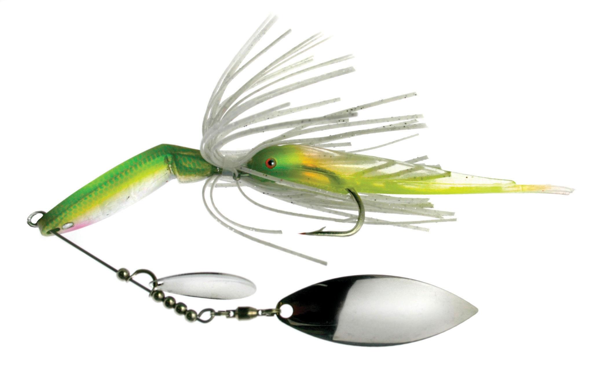 Spinnerbait para la pesca del black bass